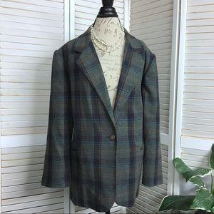EUC Sag Harbor Wool Jacket Sz 18